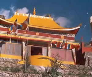 Brelengi Gompa at Brelengi near Peo