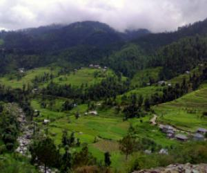 JYUNI Valley DHANGIARA District Mandi Of Himachal